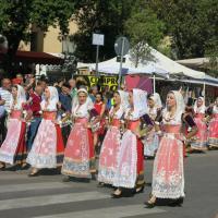 Défilé traditionnel à Sassari en Sardaigne