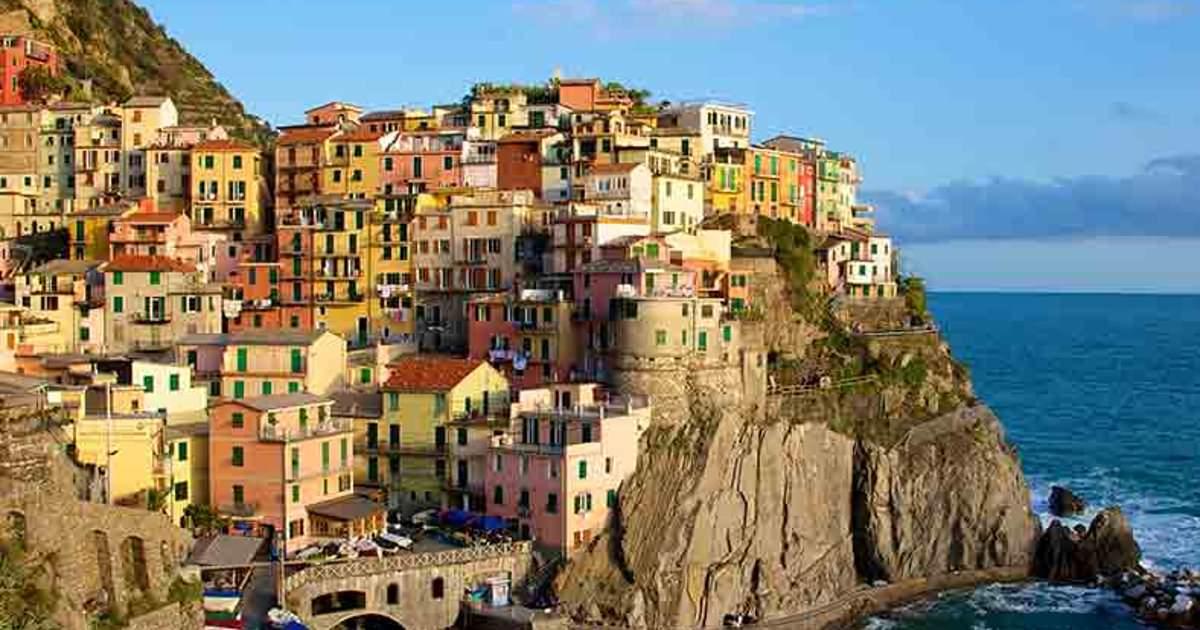 Voyage ligurie g nes cinque terre for Appart hotel 5 terres